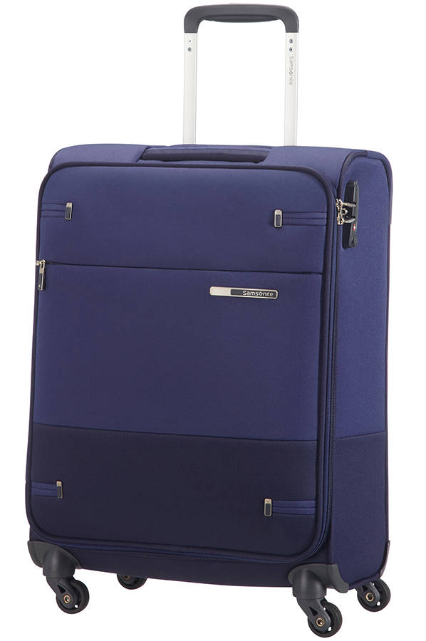 Trolley - Mala de Cabine 55cm c/ 4 Rodas Azul - Base Boost | Samsonite