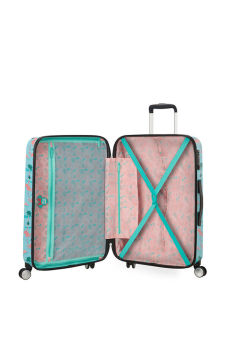 Interior - Mala de Viagem 67cm c/4 Rodas Minnie Miami Beach - Funlight Disney | American Tourister