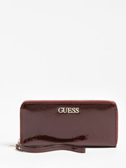 Alby Carteira Feminina Bordô | Guess | Rolling Luggage